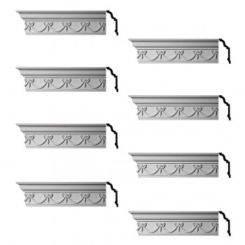 <PRE>Renovator's Supply Ornate Cornice White Urethane Hastings On Hudson  8 Pieces Totaling 768inch Length</PRE>zoom1