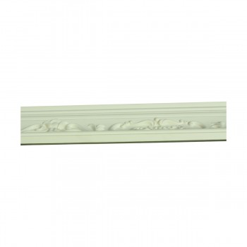 <PRE>Renovator's Supply Ornate Cornice White Urethane Amaryllis Design 8 Pieces Totaling 752inch Length</PRE>zoom7