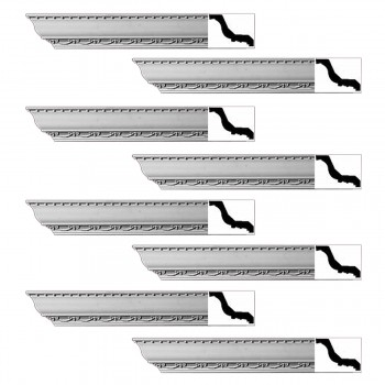 <PRE>Renovator's Supply Ornate Cornice White Urethane Tyringham Design 8 Pieces Totaling 752inch Length</PRE>zoom1