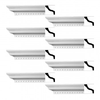 <PRE>Renovator's Supply Ornate Cornice White Urethane Hawley Design 8 Pieces Totaling 752inch Length</PRE>zoom1