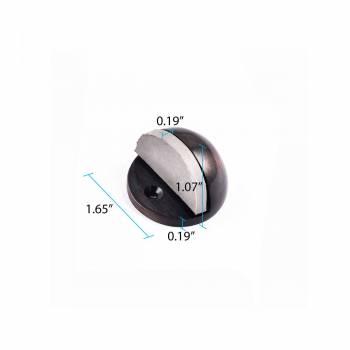 spec-<PRE>Oil Rubbed Bronze Door Stopper Adjustable Height Floor Mount Pack of 12</PRE>