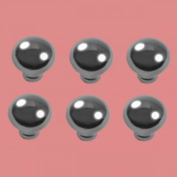 "spec-<PRE>6 Cabinet Knob Bright Chrome Colonial 1 1/4"" Dia </PRE>"