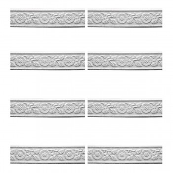 <PRE>Renovator's Supply Cornice White Urethane Leaf Design 8 Pieces Totaling 752inch Length</PRE>zoom1