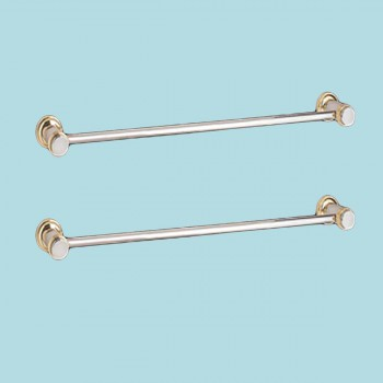 spec-<PRE>Chrome Spectrum Brass Towel Bars for Bathroom 32 Inch </PRE>
