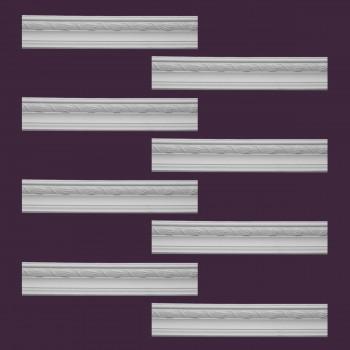 <PRE>Renovator's Supply  Ornate Cornice White Urethane Design 8 Pieces Totaling 755inch Length</PRE>zoom2