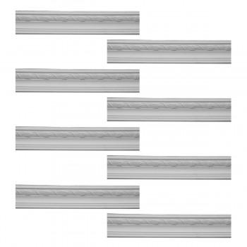 <PRE>Renovator's Supply  Ornate Cornice White Urethane Design 8 Pieces Totaling 755inch Length</PRE>zoom1