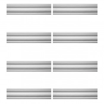 <PRE>Renovator's Supply Cornice White Urethane Warren Simple Design 8 Pieces Totaling 630inch Length</PRE>zoom1