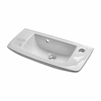 <PRE>Wall Mount Small Vessel Sink With Overflow and Single Faucet Hole Set of 3</PRE>