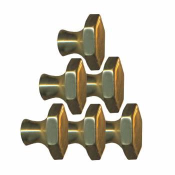 <PRE>6 Cabinet Knob Bright Solid Brass 1inch Dia </PRE>zoom1