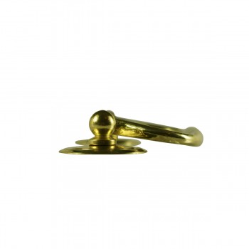 <PRE>6 Solid Brass Bail Pulls Classic Ring Rosettes 3inch </PRE>zoom7