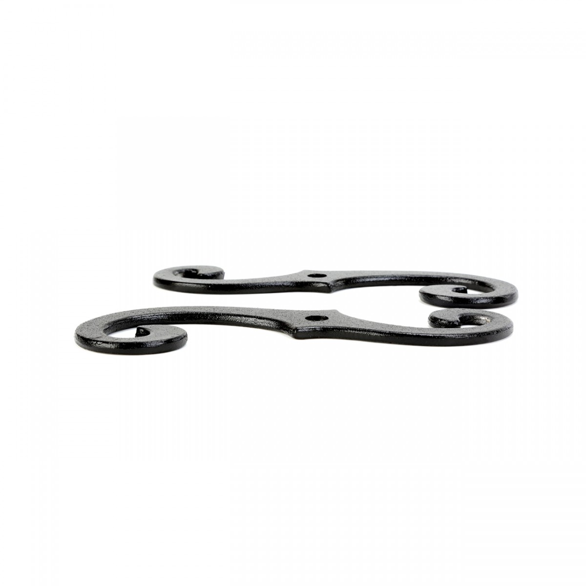 Black Aluminum Scroll Shutter Dog 612 6 pairs Shutter Dog Shutter Hardware Shutter Dog Pairs