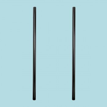 <PRE>2 Post Lamp Black Aluminum Outdoor Lamp Post 84inchH x 3&quot;D </PRE>zoom2