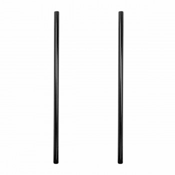<PRE>2 Post Lamp Black Aluminum Outdoor Lamp Post 84inchH x 3&quot;D </PRE>zoom1