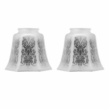 2 Glass Lamp Shade
