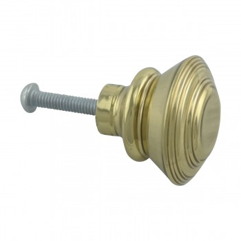 <PRE>1inch Cabinet Knob Classic Brass Set of 6</PRE>zoom6