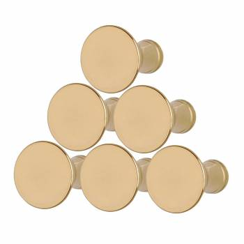 <PRE>1inch Cabinet Knob Classic Brass Set of 6</PRE>zoom1