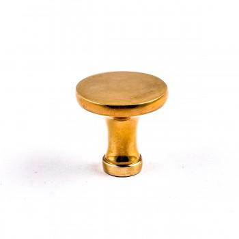 <PRE>6 Cabinet Knob Bright Solid Brass Pedestal 1 1/4inch </PRE>zoom5