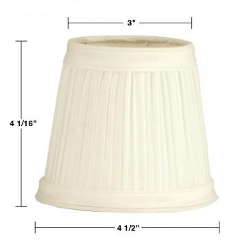 spec-<PRE>6 Lamp Shades Fabric Eggshell Design</PRE>