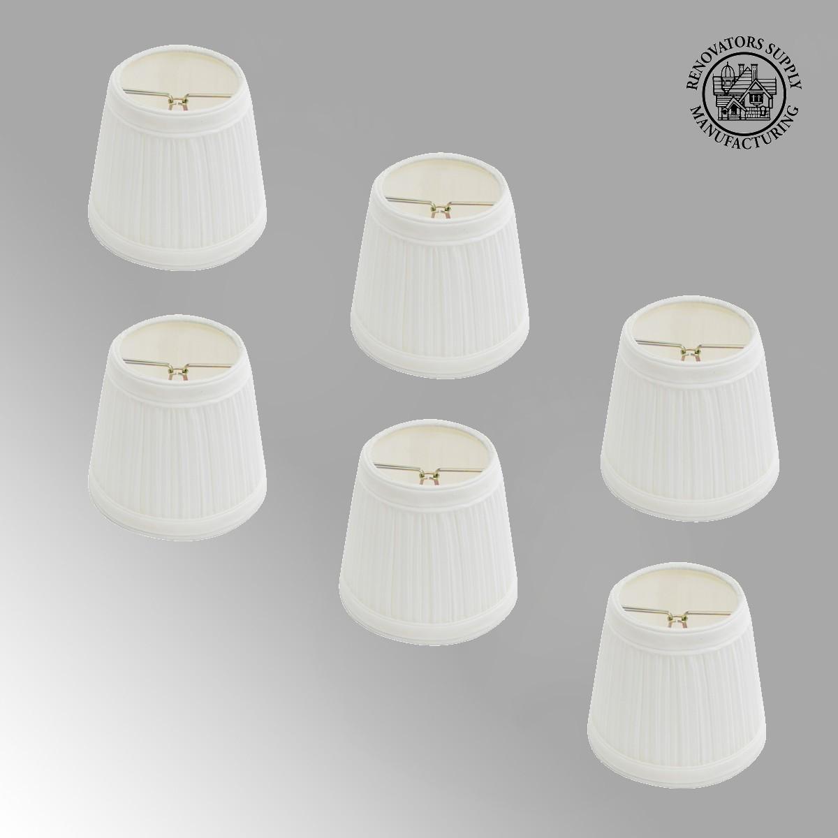 Fabric lamp shade 4 116 mini clip on 6 fabric lamp shade 4 116 mini clip on aloadofball Choice Image