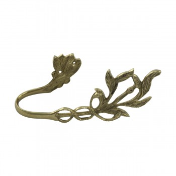 <PRE>Vintage Pair Vine Curtain Tie Back Holder Bright Brass Pack of 2</PRE>zoom10