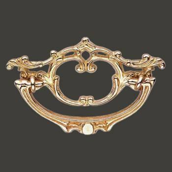 <PRE>Cabinet Pull Bright Brass Arbor 4 1/2&quot; Wide </PRE>