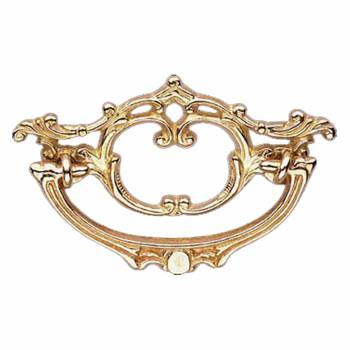 <PRE>Cabinet Pull Bright Brass Arbor 4 1/2&quot; Wide </PRE>