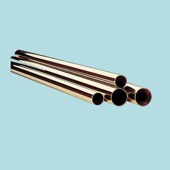 Polished Railing Connectors and Solid Brass Bar Rail Tubing 1 12 in. dia Bar Rail Bar Foot Rail Brass Bar Foot Rail