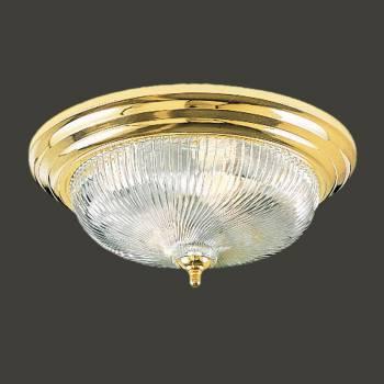 <PRE>Ceiling Lights Brass Flush Mount Swirl Light 11 1/4inchD </PRE>zoom2