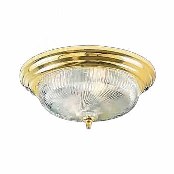 Ceiling Lights Brass Flush Mount Swirl Light 15 1/2