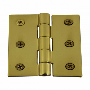 <PRE>Cabinet Hinge Square Solid Brass  2inch x 2.5&quot; </PRE>zoom1