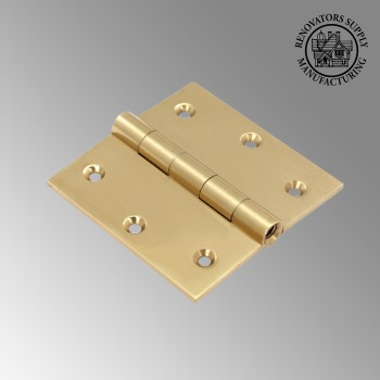 <PRE>Antique Brass Door Hinges Bright Solid Brass Square Hinge 3.5 Inch x 3.5 Inch</PRE>zoom2