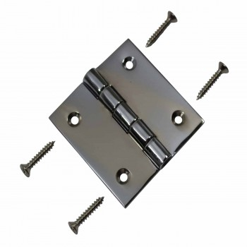 <PRE>Cabinet Hinges Bright Chrome Square 2inch x 2&quot; </PRE>zoom3