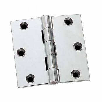 Cabinet Hinge Bright Chrome Solid Brass 2