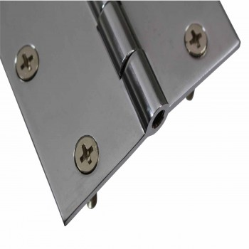 <PRE>Cabinet Hinges Chrome Solid Brass Square 3inch x 3&quot; </PRE>zoom6