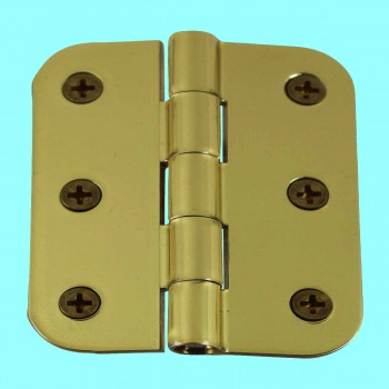 Cabinet Hinges Bright Solid Brass Square 2 x 2.5 Door Hinges Door Hinge Solid Brass Hinge