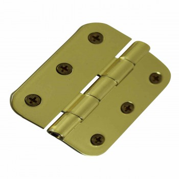 "<PRE>Cabinet Hinges Bright Solid Brass Square 2inch x 2.5"" </PRE>zoom6"