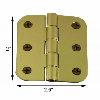 "spec-<PRE>Cabinet Hinges Bright Solid Brass Square 2"" x 2.5"" </PRE>"