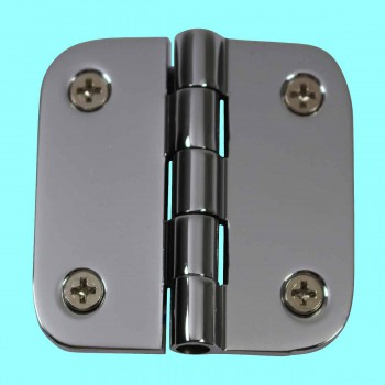 <PRE>Cabinet Hinges Bright Chrome Radius 2inch x 2&quot; </PRE>zoom2