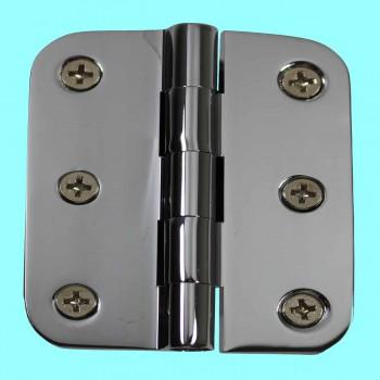 <PRE>Cabinet Hinges Bright Chrome Radius 2inch x 2.5&quot; </PRE>zoom2