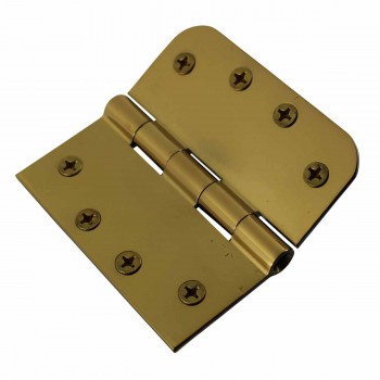 <PRE>Door Hinges Bright Solid Brass Combo 4inch x 4&quot; </PRE>zoom5