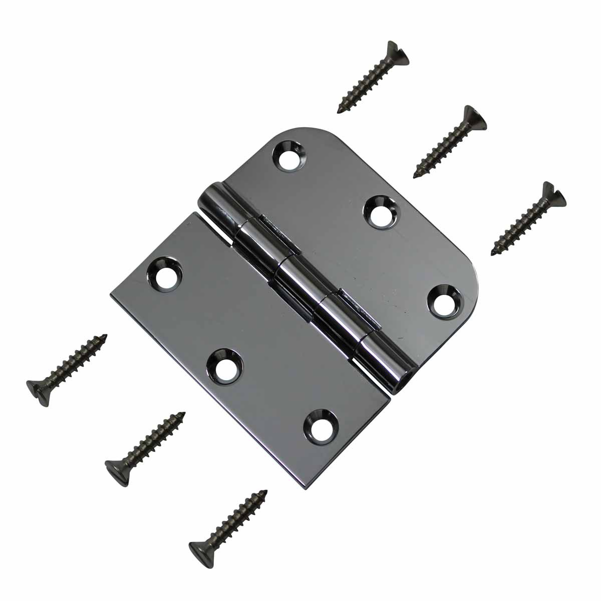 Cabinet Hinges Chrome On Brass Combo Hinge 3 x 3 Door Hinges Door Hinge Solid Brass Hinge