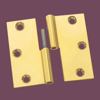 <PRE>Cabinet Hinges Bright Solid Brass Square LOL 3inch x 3&quot; </PRE>zoom2