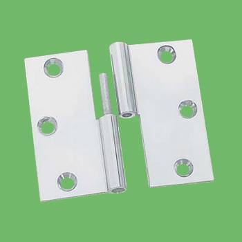 <PRE>Cabinet Hinge LIft Off Left Chrome Brass 2&quot; inch </PRE>