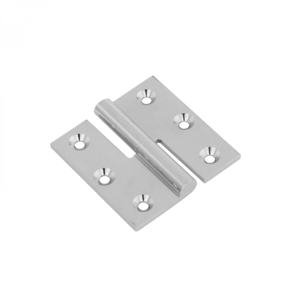 Cabinet Hinge LIft Off Left Chrome Brass 2\