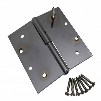 <PRE>5inch Square Door Hinge Lift Off Left Chrome Solid Brass </PRE>zoom4