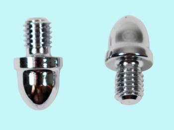<PRE>Cabinet Hinges Chrome Small Helmet Hinge Finial Pair </PRE>zoom2
