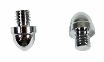 <PRE>Door Hinges Bright Chrome Large Helmet Hinge Finial Pair </PRE>zoom1