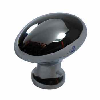 Cabinet Knob Bright Chrome Plated Oval Cabinet Hardware Cabinet Knobs Cabinet Knob