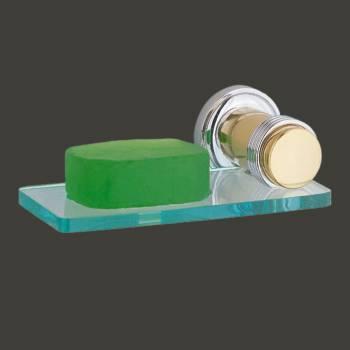 Bathroom Glass Soap Dish Holder Victorian Brass Bracket Soap Trays Soap Dish Soap Holder