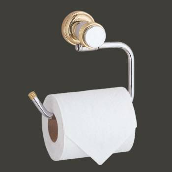 <PRE>Victorian Toilet Paper Holder Stand Bright Chrome Tissue Holder for Bathroom</PRE>zoom2